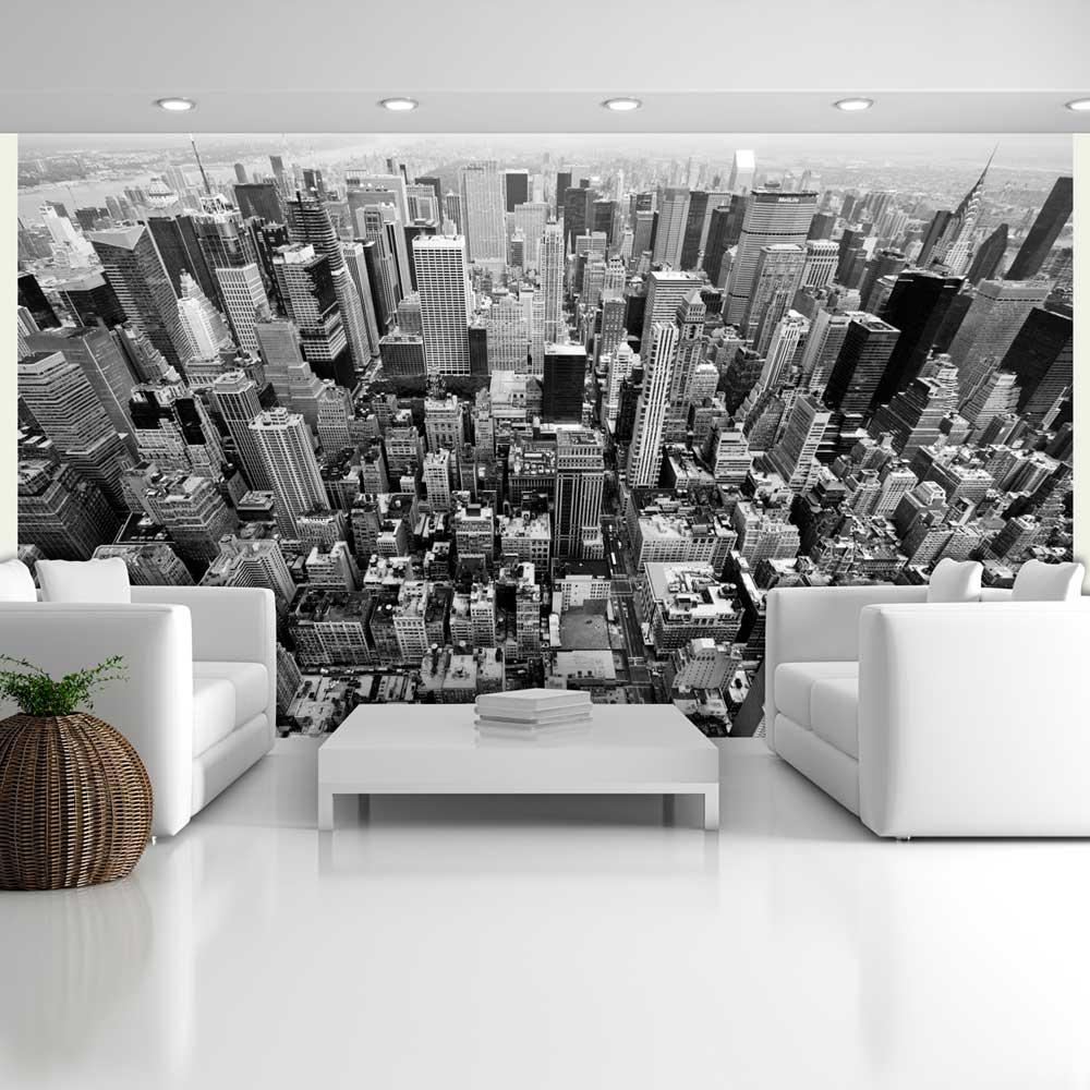 Papier Peint Panoramique Noir Et Blanc papier peint panoramique États-unis, new york: noir et blanc