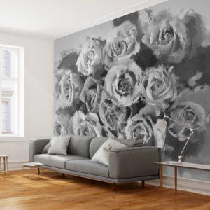 Papier Peint Panoramique A dozen roses