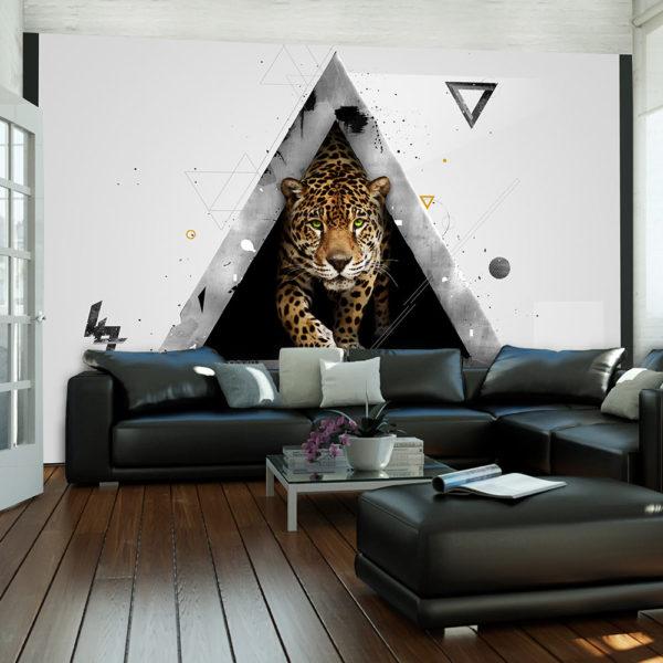 Papier Peint Panoramique Abstraction sauvage