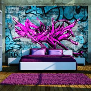 Papier Peint Panoramique Anonymous graffiti