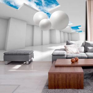 Papier Peint Panoramique Architecture of the Future