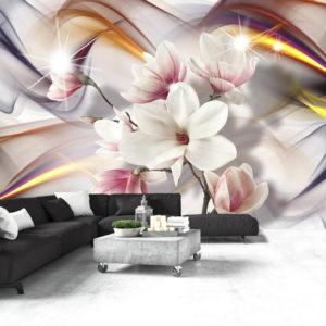 Papier Peint Panoramique Artistic Magnolias