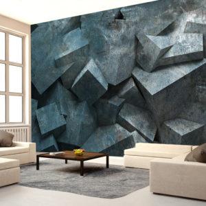 Papier Peint Panoramique Avalanche de pierre