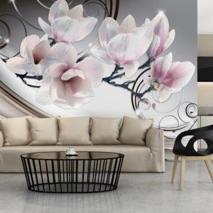 Papier Peint Panoramique Belle Magnolia