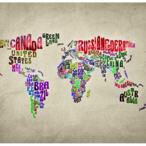 Papiers peints > Carte du monde