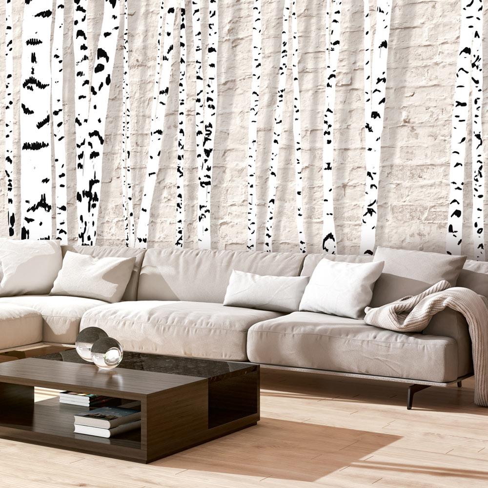 Papier Peint Panoramique Paysage papier peint panoramique birchen grove