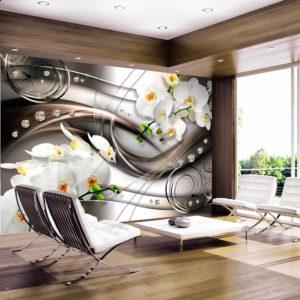 Papier Peint Panoramique Breeze and orchid