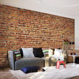 Papier Peint Panoramique Brick Wall
