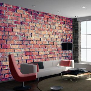 Papier Peint Panoramique Brick - puzzle