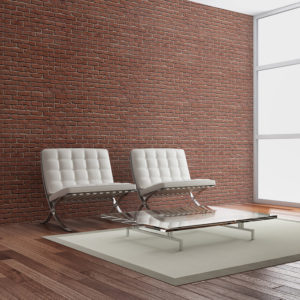 Papier Peint Panoramique Brick - simple design
