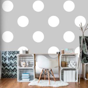 Papier Peint Panoramique Charming Dots