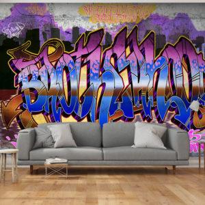 Papier Peint Panoramique Colorful Mural