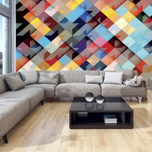 Papier Peint Panoramique Colour Patchwork