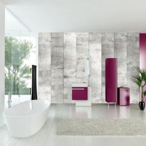 Papier Peint Panoramique Concrete mosaic