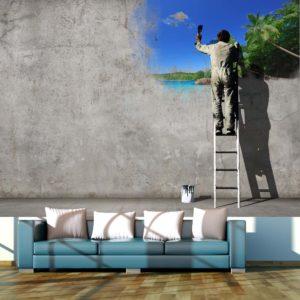 Papier Peint Panoramique Creative process