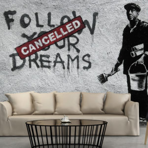 Papier Peint Panoramique Dreams Cancelled (Banksy)