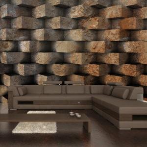 Papier Peint Panoramique Entrelacs de brique