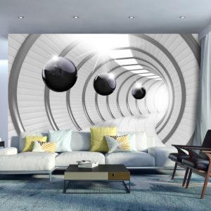 Papier Peint Panoramique Futuristic Tunnel