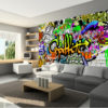 Papier Peint Panoramique Graffiti on the Wall