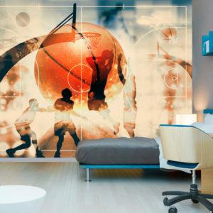 Papier peint adhésif - I love basketball!