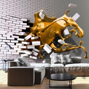 Papier Peint Panoramique Inspiration de safran