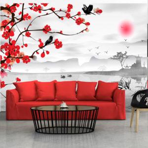Papier Peint Panoramique Japanese garden