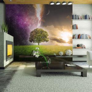 Papier Peint Panoramique Magic tree