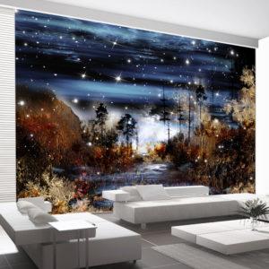 Papier Peint Panoramique Magical forest