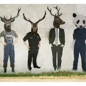 Tapisserie murales Personnes