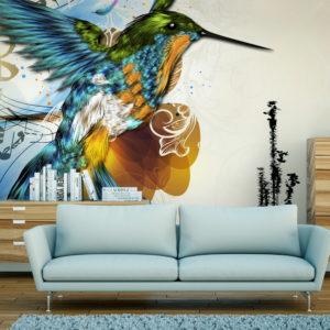 Papier Peint Panoramique Marvelous bird