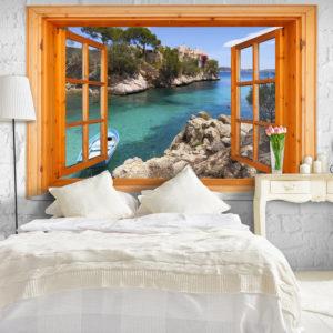 Papier Peint Panoramique Mediterranean Landscape