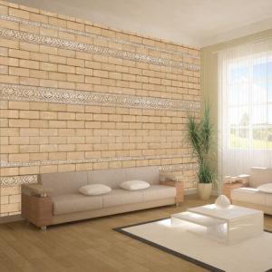 Papier Peint Panoramique Mur avec ornements