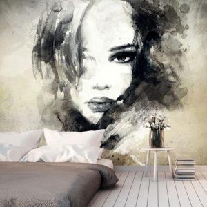 Papier Peint Panoramique Mysterious Girl