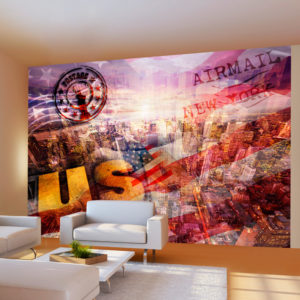 Papier Peint Panoramique New York - patriotic theme