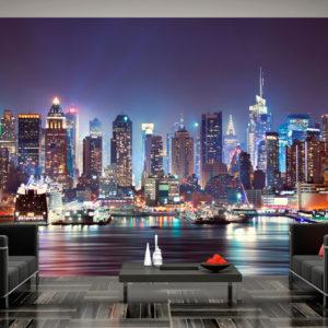 Papier Peint Panoramique Night in New York City