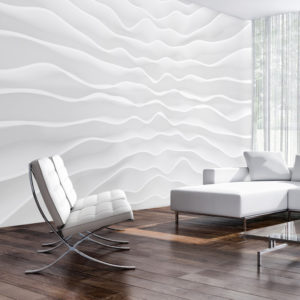 Papier Peint Panoramique Origami wall