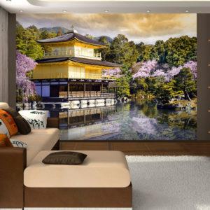 Papier Peint Panoramique Paysage japonais