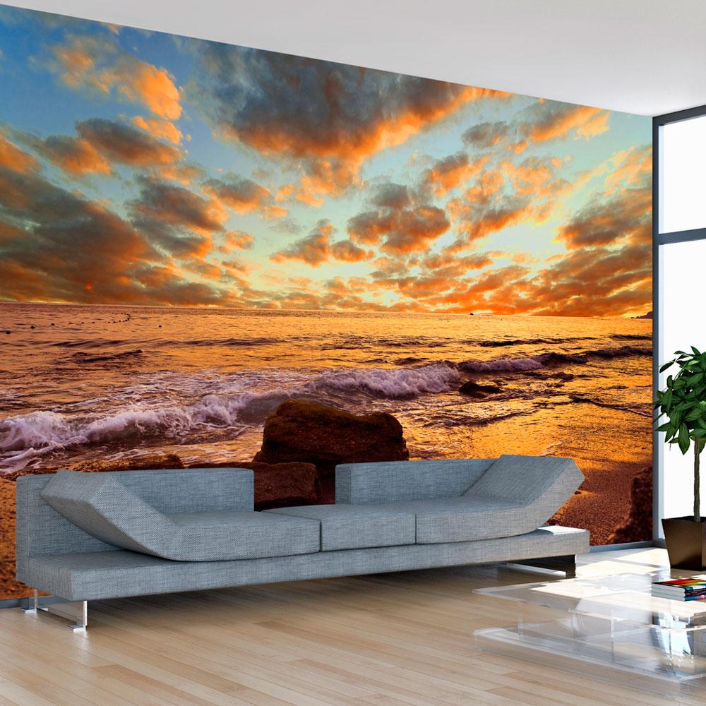 Papier Peint Panoramique Paysage papier peint panoramique paysage marin, turquie