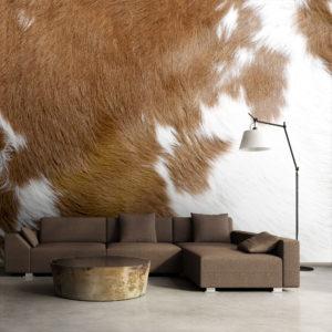 Papier Peint Panoramique Peau de vache