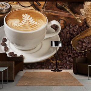 Papier Peint Panoramique Peut-être le café?