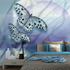 Papier Peint Panoramique Planet of butterflies