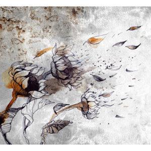 Tapisserie murales Fleurs > Tournesols