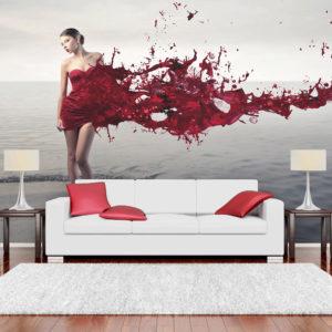 Papier Peint Panoramique Red beauty