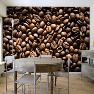 Papier Peint Panoramique Roasted coffee beans