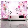 Papier Peint Panoramique Rose variations