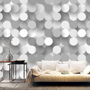 Papier Peint Panoramique Silver Net
