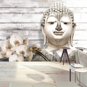 Papier Peint Panoramique Smiling Buddha