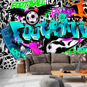 Papier Peint Panoramique Sports Graffiti