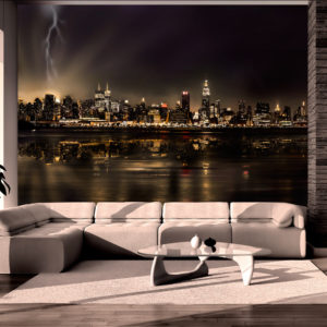 Papier Peint Panoramique Storm in New York City