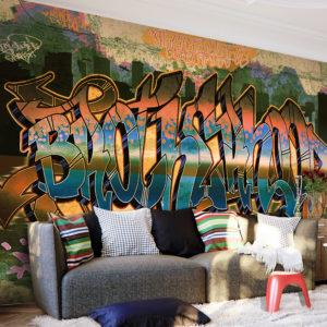 Papier Peint Panoramique Street Art